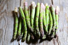 Green asparagus vegetable royalty free stock photography