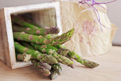 Green asparagus Royalty Free Stock Photography