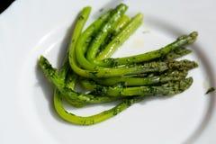 Green asparaguses Royalty Free Stock Photo