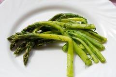Green asparaguses Stock Photo