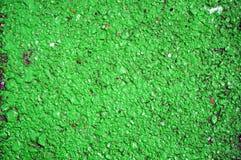 Green  asphalt Stock Images