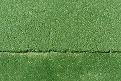 Green asphalt surface. Royalty Free Stock Photography