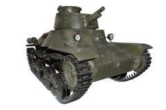 Green assault tank Stock Photography