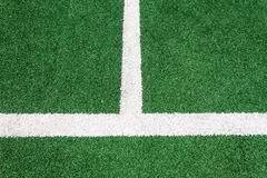 Green Astro Turf Lines  Stock Photography