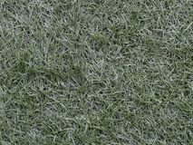 Green astroturf for soccer used as background in sport concept. Green astroturf, artificial grass, for soccer used as background in sport concept Royalty Free Stock Photos