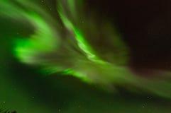 Green Aurora Corona. Lights up the night sky Royalty Free Stock Image