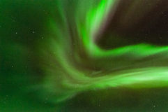 Green Aurora Corona Royalty Free Stock Photo