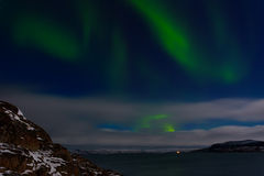 Green aurora Stock Images