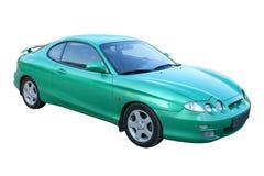 Green auto Stock Photography