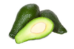 Green avocado Stock Photography