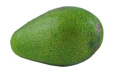 Green avocado Stock Image
