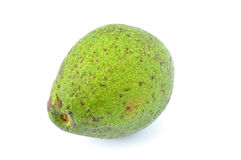 Green avocado. Royalty Free Stock Photography