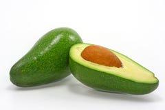 Green avocados Stock Photos