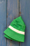 Green baby hat Royalty Free Stock Photos