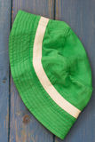 Green baby hat Stock Photography