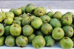 Green baby kiwi berries Stock Image