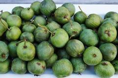 Green baby kiwi berries Royalty Free Stock Photography