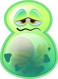 Green bacillus Royalty Free Stock Photo
