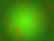 Green backgrouds Stock Image