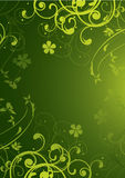 Green background Royalty Free Illustration
