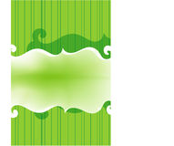 Green background. Abstract background with lines & transparency Royalty Free Stock Photography