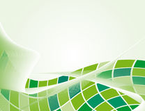 The green background Stock Image