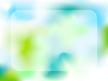 Green background. Vector picture of Green and blue background vector illustration
