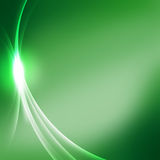 Green background. Nice green luxury background with waves Stock Photography