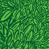 Green background. Artistic green background with leaves royalty free illustration