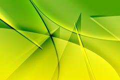 Green background. vector illustration