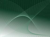 Green background. With stylish abstract net Stock Images