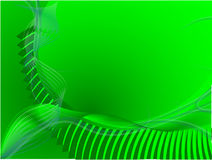 Green background. Abstract green background vector illustration royalty free illustration