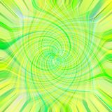 Green background. Twirl background in yellow and green stock illustration