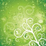 Green background. Vector abstract decor green background Stock Illustration