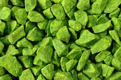 Green Background. Green stones background stock images
