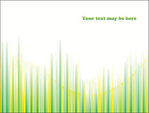 Green background. Green line background, vector illustration Royalty Free Stock Photo
