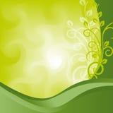 Green background-abstakt Stock Photos