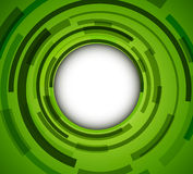 Green background. Abstract green background - 3D circles, vector illustration Stock Photography