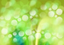 Green background. Abstract green mint background with bokeh effect stock illustration