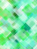 Green background. Abstract green mint background with squared tiles effect stock illustration