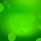 Green background, abstract nature fresh bokeh background Royalty Free Stock Photos