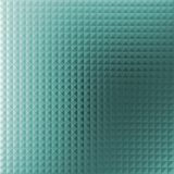 Green background of the array of conical squares royalty free illustration