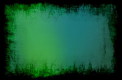 Green background black frame Royalty Free Stock Photo