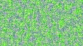 Green background with blue gaps. Abstract background of green and yellow specks and grains over blue gaps. Horizontal 16:9 3d render Royalty Free Stock Photos