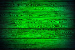 Green background of boards Royalty Free Stock Image