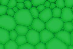 Green background from the bubbles Royalty Free Stock Image