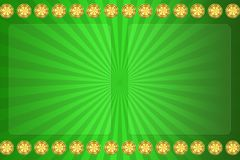 Green background for casino Stock Images