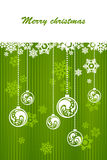 Green background for Christmas. Green background for new year and for Christmas Stock Photos