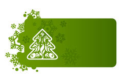 Green background for Christmas. Green background for new year and for Christmas Stock Photo
