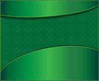 Green background with clover leaves Royalty Free Stock Photo